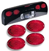 CORVETTE LED TAILLIGHTS: 1997-2004 C5 & Z06