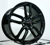GLOSS BLACK C7 Z51 STYLE CORVETTE WHEELS 18/19 COMBO FOR C5