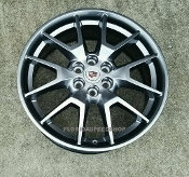 OEM GM CADILLAC SRX MIDNIGHT SILVER WHEELS 20X8""