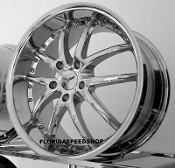 SR1 PERFORMANCE WHEELS / APEX SERIES CHROME 18/19