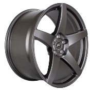 FORGESTAR CF5 TEXTURED MATTE BLACK FITS Z06/GS/ZR1 19/20 COMBO