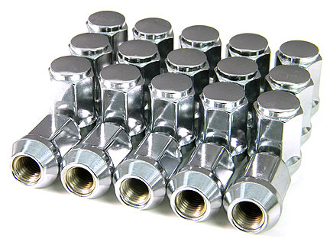 CHROME LUG NUTS FULL SET