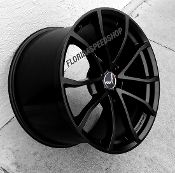 OEM GM CUP SATIN BLACK WHEELS/TPMS/CONTINENTAL TIRES PACKAGE