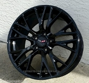 GLOSS BLACK C7 Z06 STYLE FITS C4 18/19 COMBO