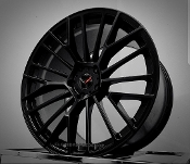 CRAY ASTORIA SATIN MATTE BLACK WHEELS FOR C7 Z06 19/20