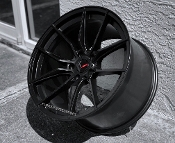 CRAY SPIDER SATIN MATTE BLACK WHEELS FOR C7 Z06 19/20